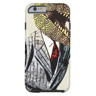 Tyrannosaurus Rex Business Man Tough iPhone 6 Case