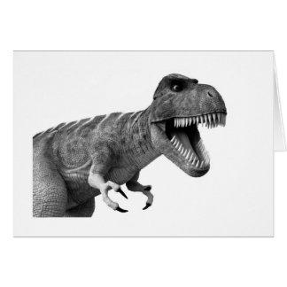 Tyrannosaurus Rex Card
