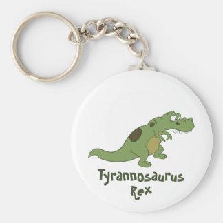 Tyrannosaurus Rex Cartoon Key Ring