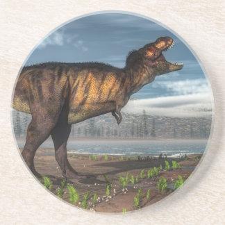 Tyrannosaurus rex coaster