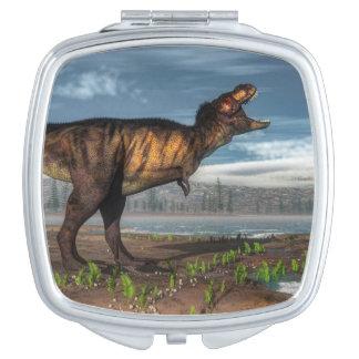 Tyrannosaurus rex compact mirrors