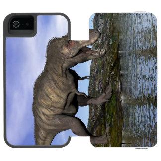 Tyrannosaurus rex dinosaur - 3D render Incipio Watson™ iPhone 5 Wallet Case