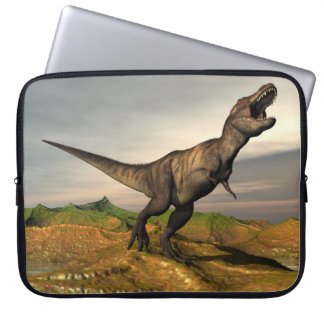 Tyrannosaurus rex dinosaur - 3D render Laptop Sleeve