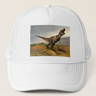 Tyrannosaurus rex dinosaur - 3D render Trucker Hat