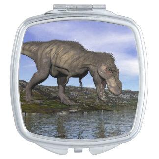 Tyrannosaurus rex dinosaur - 3D render Vanity Mirrors