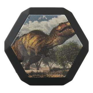 Tyrannosaurus rex dinosaur protecting its eggs