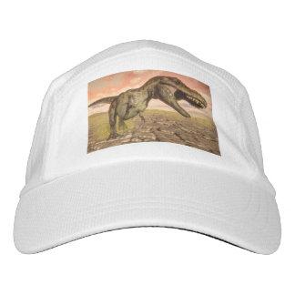 Tyrannosaurus rex dinosaur roaring hat