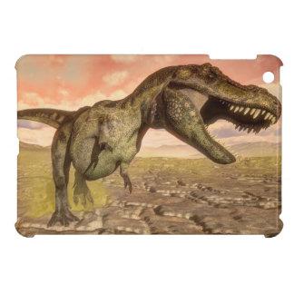 Tyrannosaurus rex dinosaur roaring iPad mini cases