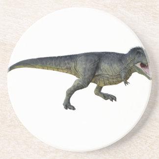 Tyrannosaurus Rex Dinosaur Running in Profile Coaster
