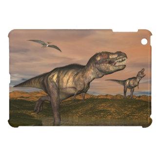 Tyrannosaurus rex dinosaurs - 3D render Case For The iPad Mini