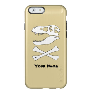 Tyrannosaurus Rex Jolly Roger Incipio Feather® Shine iPhone 6 Case