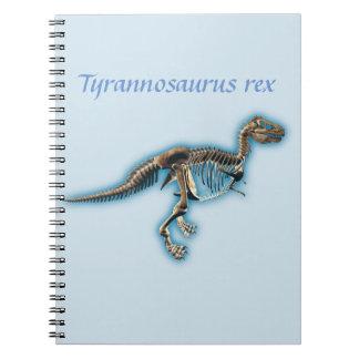 Tyrannosaurus rex notebook