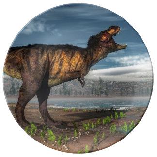 Tyrannosaurus rex plate