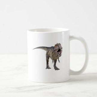 Tyrannosaurus Rex Roaring Towards the Front Coffee Mug