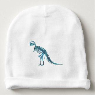 Tyrannosaurus rex skeleton art baby beanie