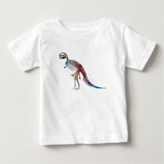 Tyrannosaurus rex skeleton art baby T-Shirt