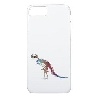 Tyrannosaurus rex skeleton art iPhone 8/7 case