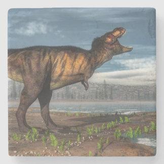Tyrannosaurus rex stone coaster