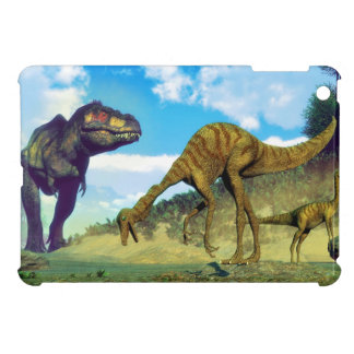 Tyrannosaurus rex surprising gallimimus dinosaurs case for the iPad mini