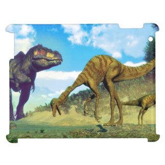 Tyrannosaurus rex surprising gallimimus dinosaurs iPad covers