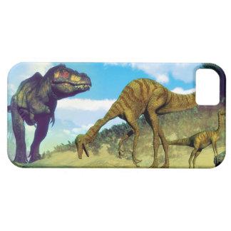 Tyrannosaurus rex surprising gallimimus dinosaurs iPhone 5 case