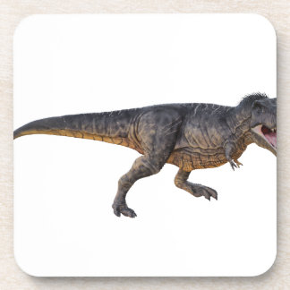 Tyrannosaurus-Rex with Yellow Coloring Coaster