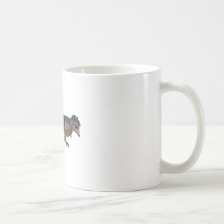 Tyrannosaurus-Rex with Yellow Coloring Coffee Mug