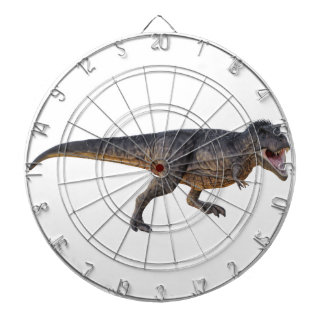 Tyrannosaurus-Rex with Yellow Coloring Dartboard