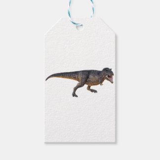 Tyrannosaurus-Rex with Yellow Coloring Gift Tags