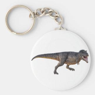 Tyrannosaurus-Rex with Yellow Coloring Key Ring