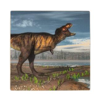 Tyrannosaurus rex wood coaster