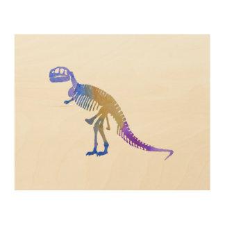Tyrannosaurus Rex Wood Wall Art