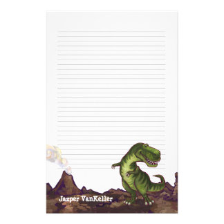 Tyrannosaurus Rex Writing Stuff Stationery