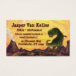 Tyrannosaurus Rex Writting Stuff Business Card