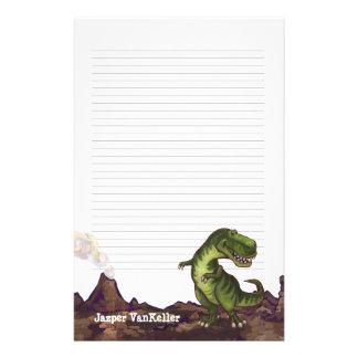 Tyrannosaurus Rex Writting Stuff Stationery