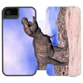 Tyrannosaurus roaring - 3D render Incipio Watson™ iPhone 5 Wallet Case