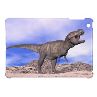 Tyrannosaurus roaring - 3D render iPad Mini Cover