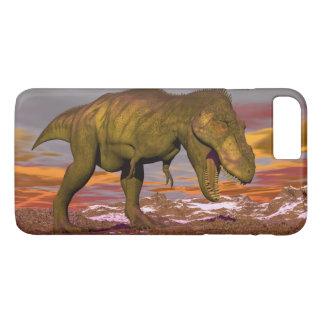 Tyrannosaurus roaring - 3D render iPhone 8 Plus/7 Plus Case