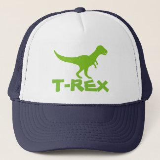 Tyrannosaurus T Rex dinosaur trucker hat for kids
