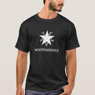 Tyranny and Rebellion - Texas Independence T-Shirt