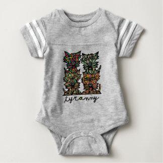 """Tyranny"" Baby Sport Bodysuit"