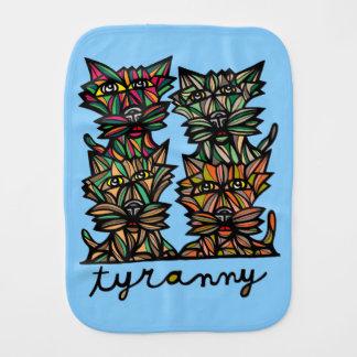 """""""Tyranny"""" Burp Cloth"""