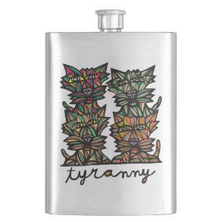 """Tyranny"" Classic Flask"