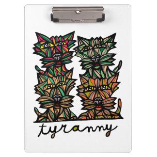 """""""Tyranny"""" Clipboard"""