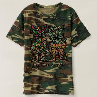 """Tyranny"" Men's Camouflage T-Shirt"