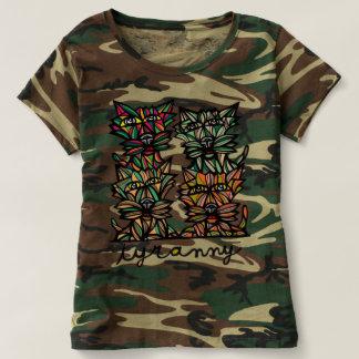 """Tyranny"" Women's Camouflage T-Shirt"