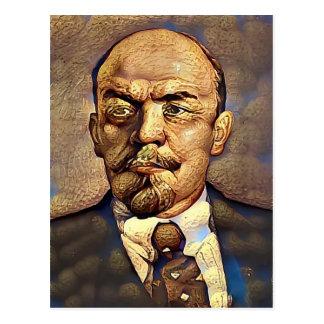 Tyrant Series #6: Nutty Lenin Postcard