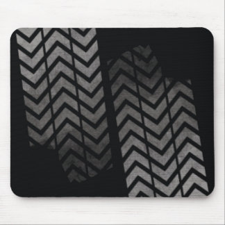 Tyre mark mouse pad