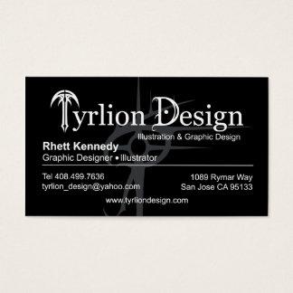 Tyrlion Black Biz Cards