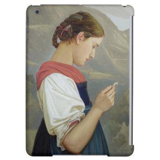 Tyrolean Girl Contemplating a Crucifix, 1865
